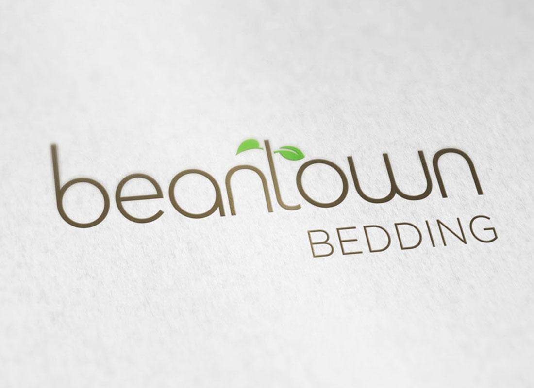 Full-color Beantown Bedding logomark