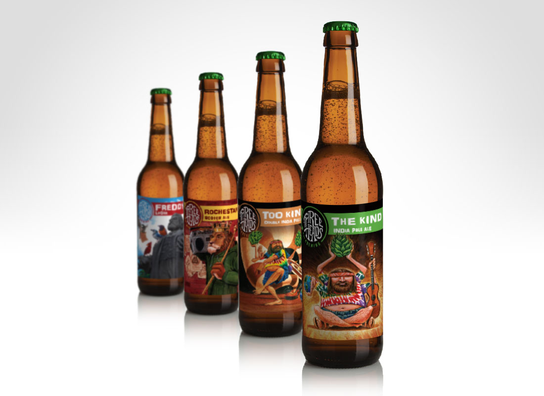 12oz Bottle Label Series