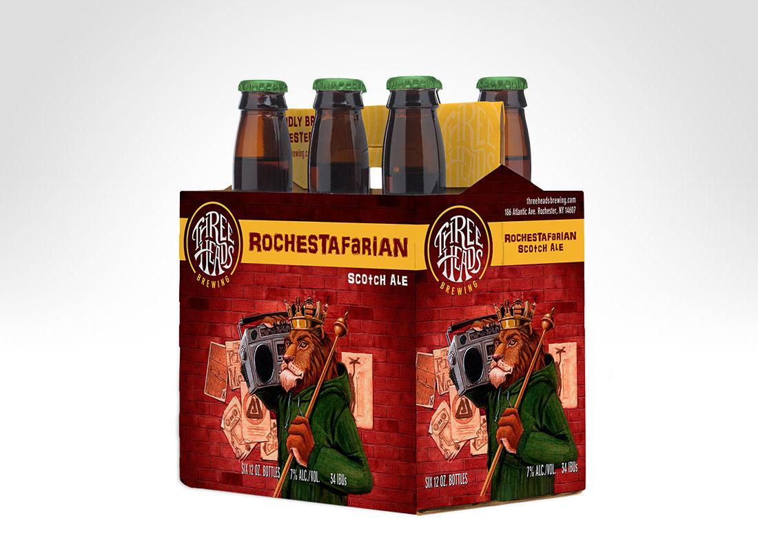 3HB 6 Pack - Rochestafarian