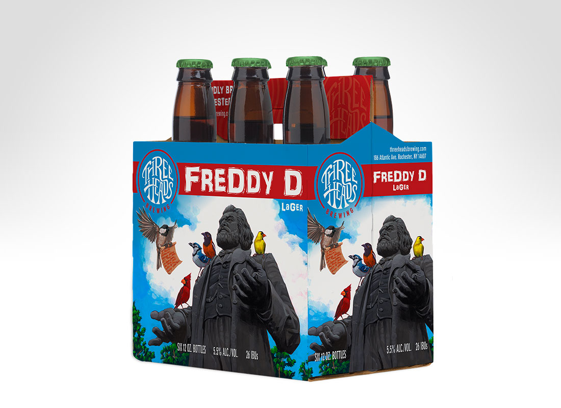 3HB 6 Pack - Freddy D
