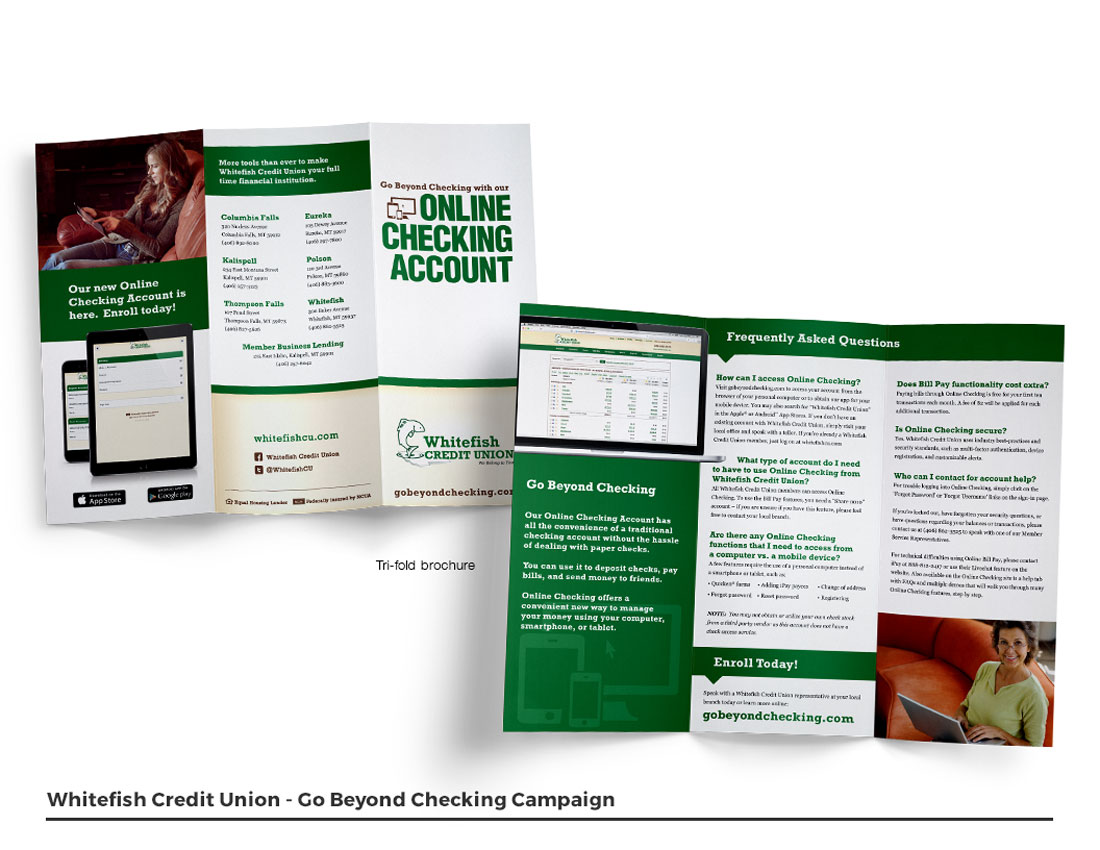 Go Beyond Campaign - Trifold Brochure
