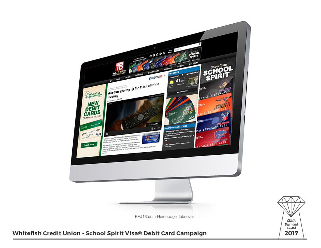 School Spirit - KPAX Homepage Take Over