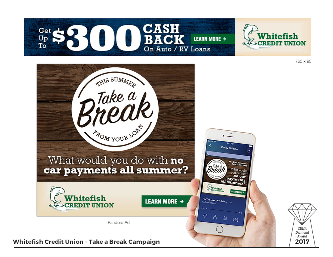 Take a Break - Digital Ads