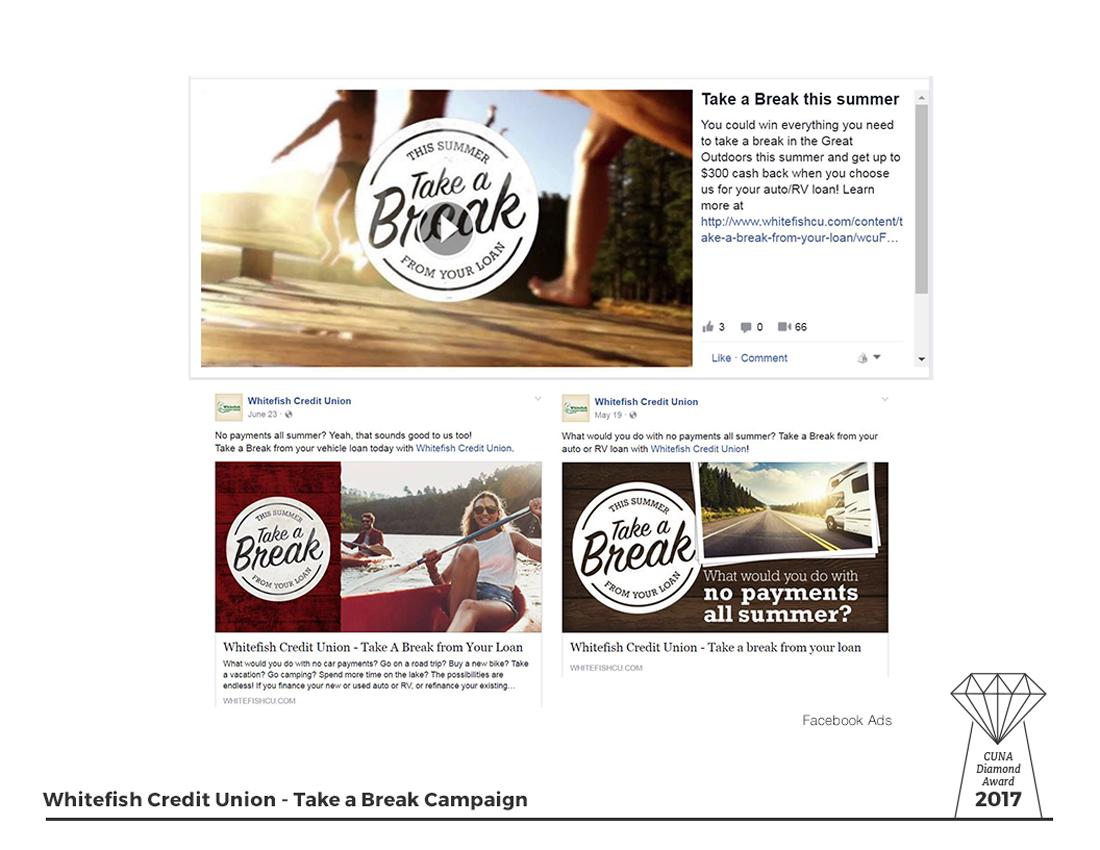 Take a Break - Facebook Ads