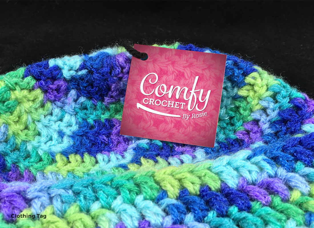 Comfy Crochet by Rosie - Clothing Tag