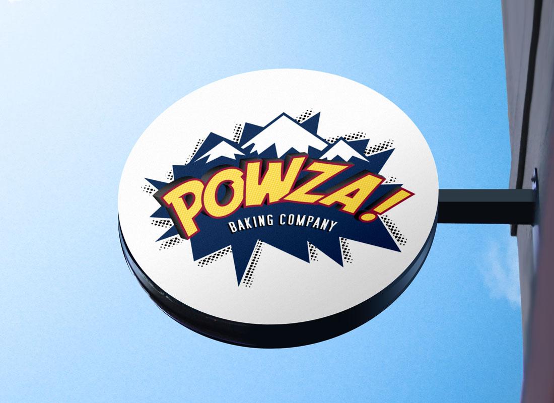 POWZA Baking Company Logo