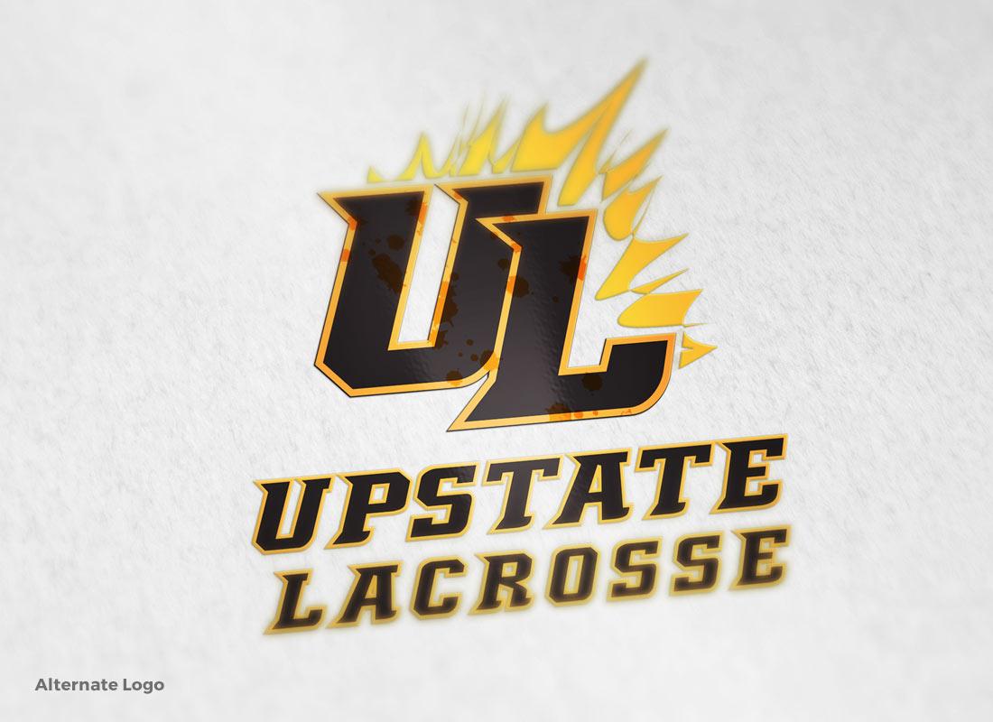 Upstate Lacrosse - Alternate Logo
