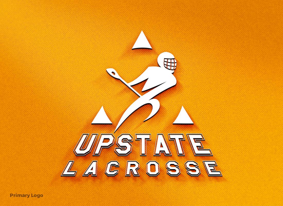 Upstate Lacrosse - Primary Logo