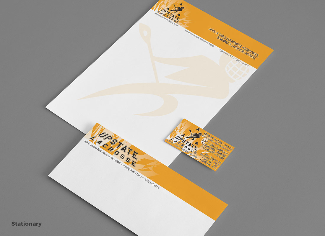 Upstate Lacrosse - Business Collateral