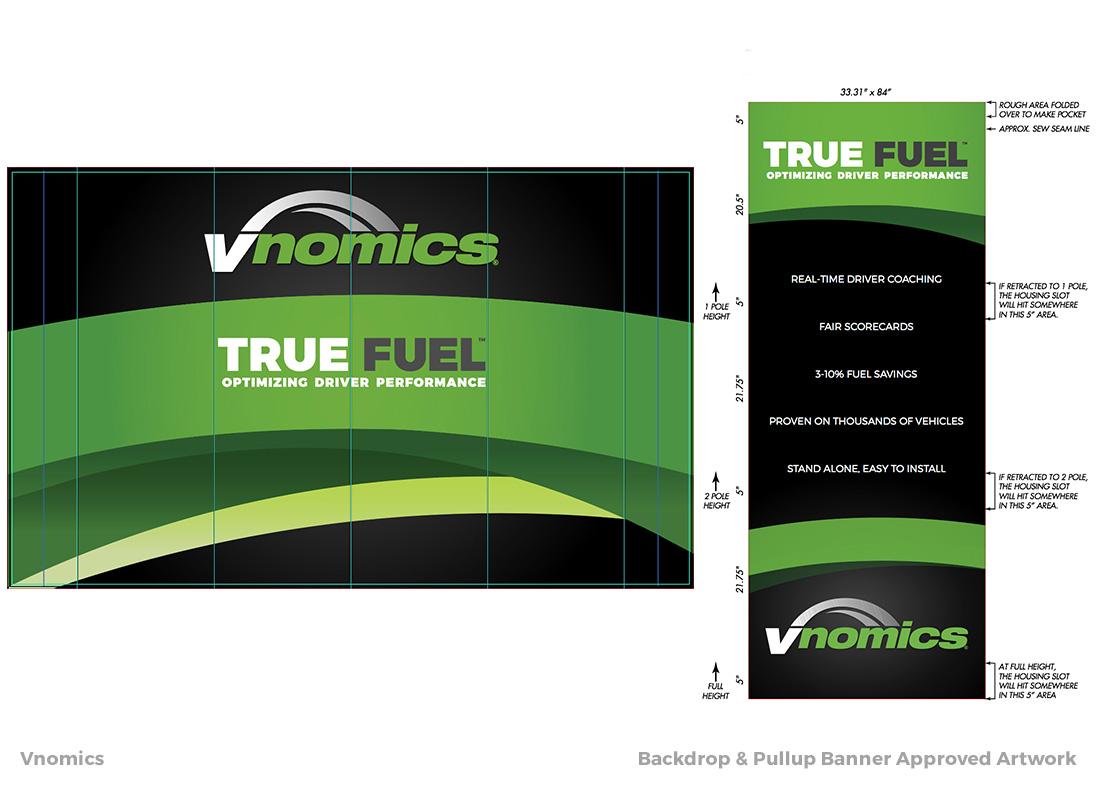 Vnomics - Tradeshow Booth