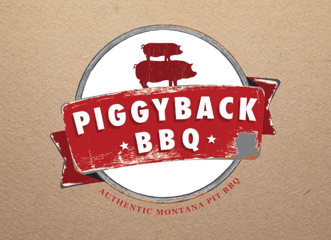 Piggyback BBQ Logo