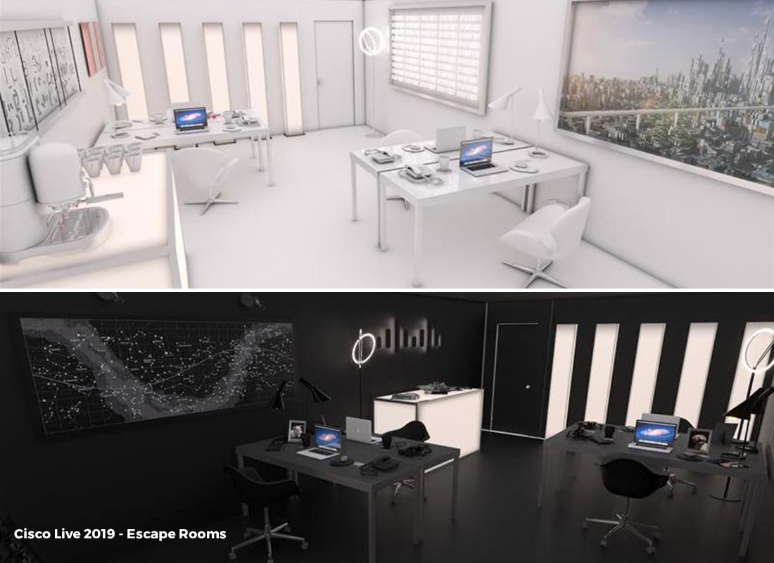 CiscoLive 2019 Escape Rooms