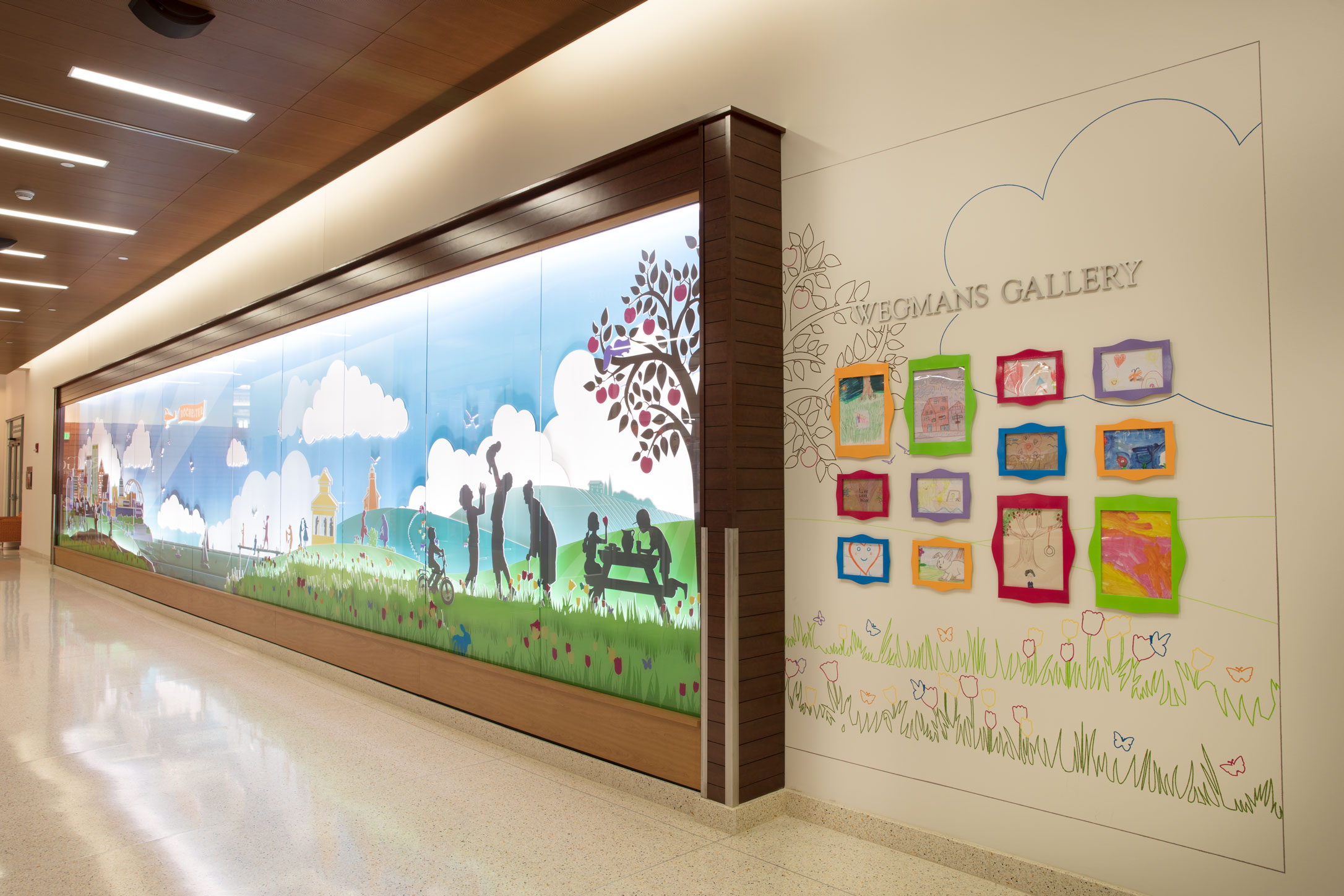 MSM Wegmans Recognition Mural Right View